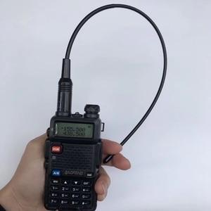Image 3 - 10pcs Dual band NA771 handheld two way radio antenna 145/435M RH771 orange colour flexible rubber antenna