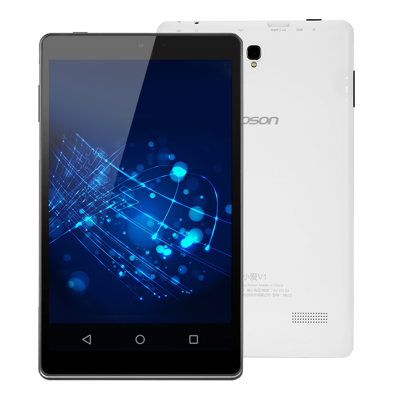 Aoson M812 Android 8 inch Tablets PC 16GB ROM +1GB RAM Quad Core 1.3GHz IPS Screen 1280*800 Bluetooth External WIFI Promotion lnmbbs tablet 10 1 android 5 1 tablets with cases 1280 800 pixel wifi 802 11 b g wifi 3g wcdma 2100 mhz 1gb ram 16gb rom 8 core
