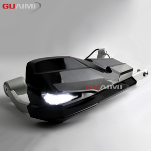Image 4 - NEW LED motorcycle handle wind shield handguards For BMW F800GS/R1200GS LC/ADV include Signal Lights and Daytime running lamp