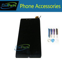1 шт./лот черный Цвет для Alcatel One Touch Idol Альфа OT6032 6032 6032A 6032X ЖК-дисплей Дисплей и Сенсорный экран планшета Ассамблеи