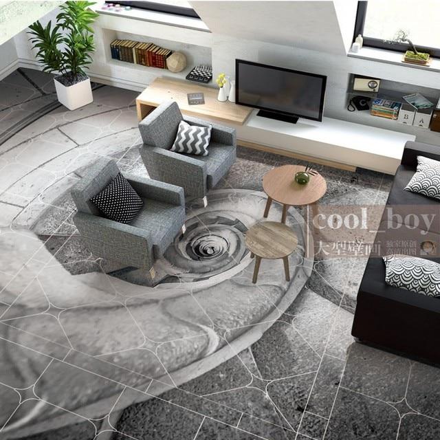 Freies Verschiffen Böden Eigene Wohnzimmer Selbstklebende Fototapete Boden Spirale Conch Treppen Europäischen Hintergrund