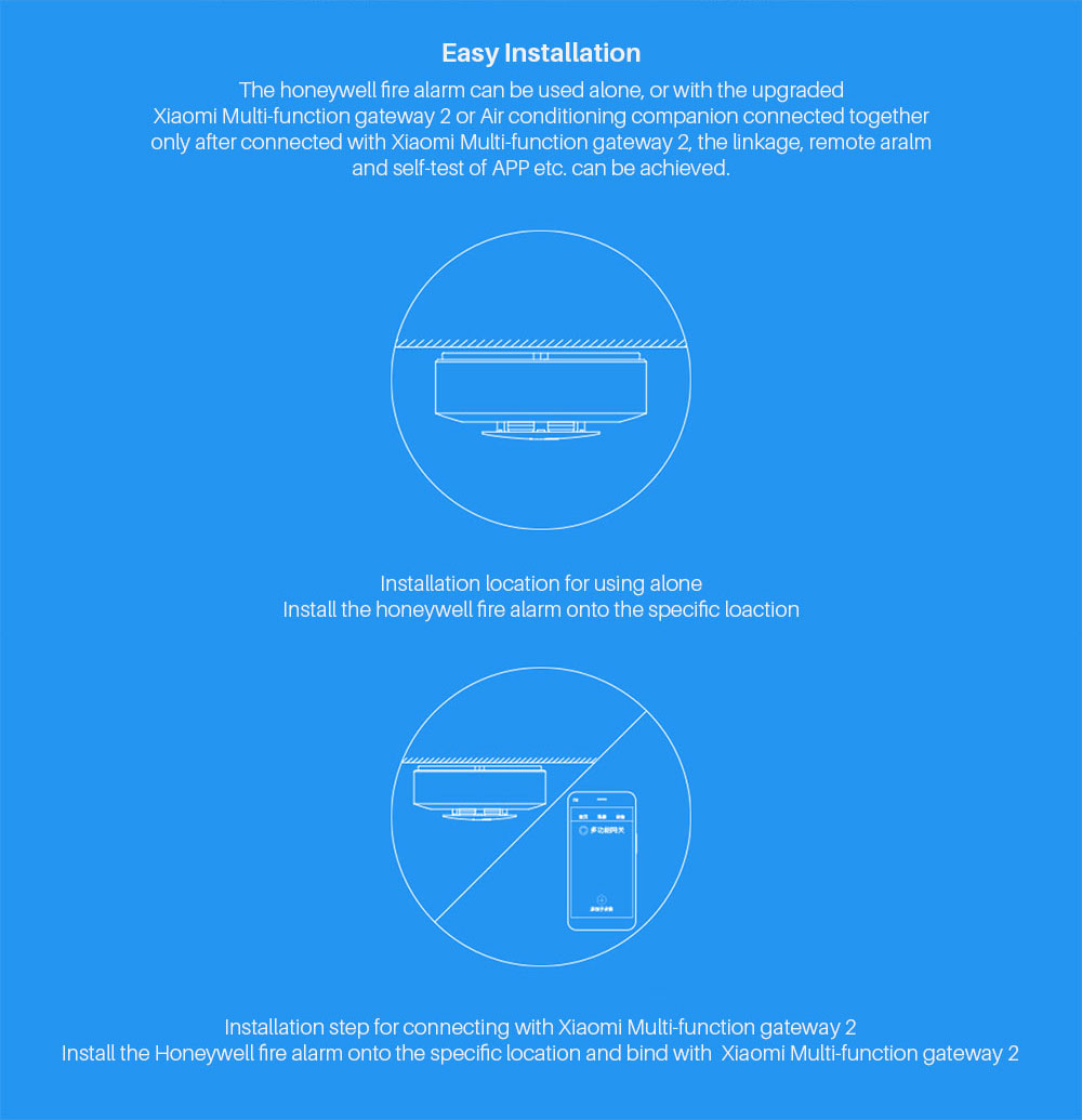 Xiaomi Mijia Honeywell Fire Alarm Smoke Detector Sensor (7)