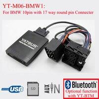 Yatour Digital Music Changer Car Radio MP3 Player For BMW