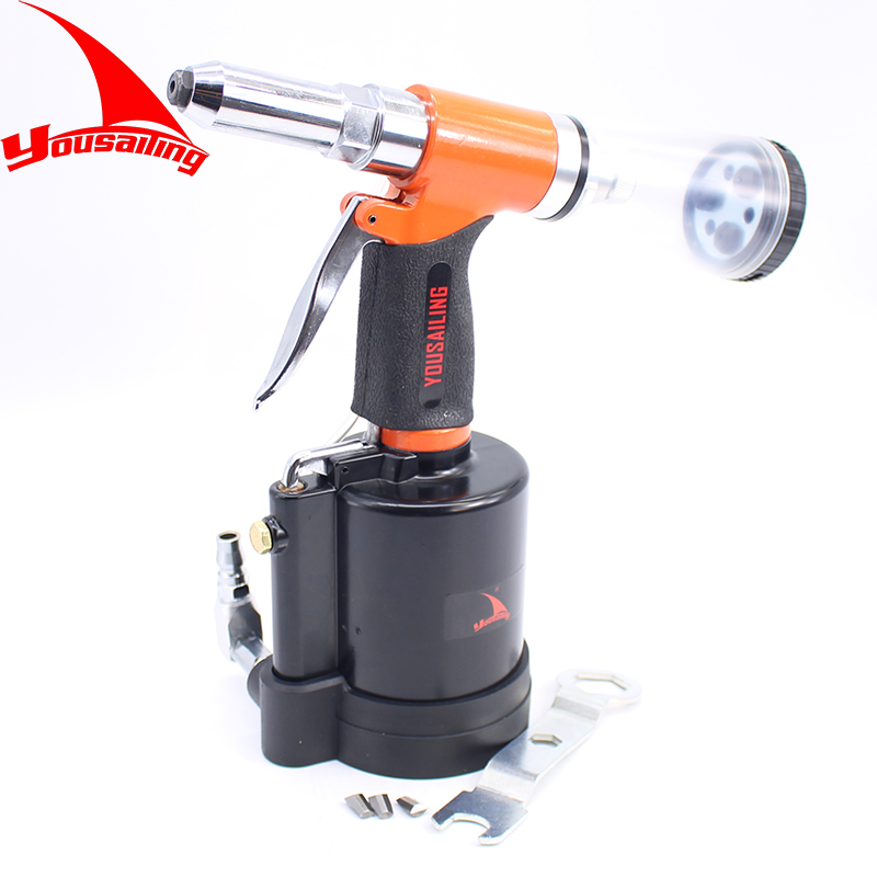 YOUSAILING Powerful Vacuum Air Riveter 3.2, 4.0, 4.8mm, 6.4mm Pneumatic Rivets Gun Air Riveter Gun Strong Self-absorb Riveter tc450 1 4 6 4mm air riveter pneumatic riveter 3 2mm 4 0mm 4 8mm 6 4mm