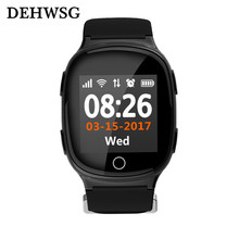 H100 Smart Baby Watch GPS LBS WIFI Positioning Sos Watch For Old People Kid Elderly Anti Lost Alarm Watch Heart Rate Sport Watch(China)