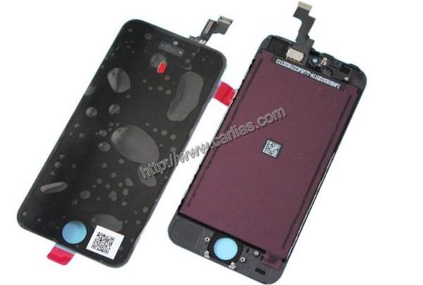 Prix pour 10 pcs/lot Prix Usine En Gros 1000% Test LCD Écran Tactile Pour iPhone 5S de Travail Bien Avant Expédition