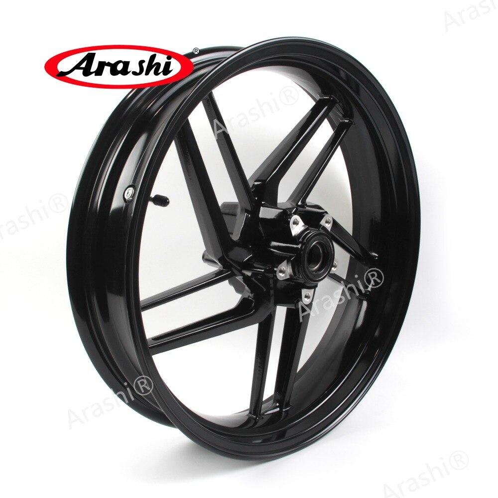 Arashi 1PCS Black Motorcycle Front Wheel Rim For Ducati 959 PANIGALE 2016 2017 2018 Front Rims 959 PANIGALE 899 PANIGALE