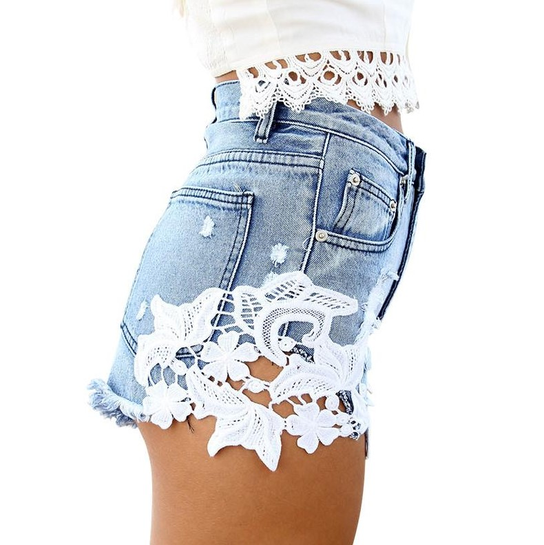 Online Get Cheap Lace Shorts Jeans -Aliexpress.com | Alibaba Group