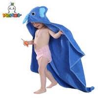 Michley crianças toalha 2019 criança 100% algodão roupão do bebê meninos meninas primavera animal com capuz toalha de banho crianças dos desenhos animados toalha qwa