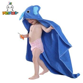Michley crianças toalha 2020 criança 100% algodão roupão do bebê meninos meninas primavera animal com capuz toalha de banho crianças dos desenhos animados toalha qwa