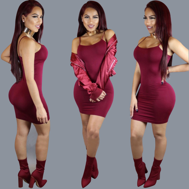 Classic Strappy Bodycon Dress 4