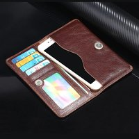 Genuine Cow Leather Phone Case Hand Card Wallet POUCH For Bluboo Maya/Dual/Edge,UMi Rome X/UMi Z/Plus E/Max/Super/Plus