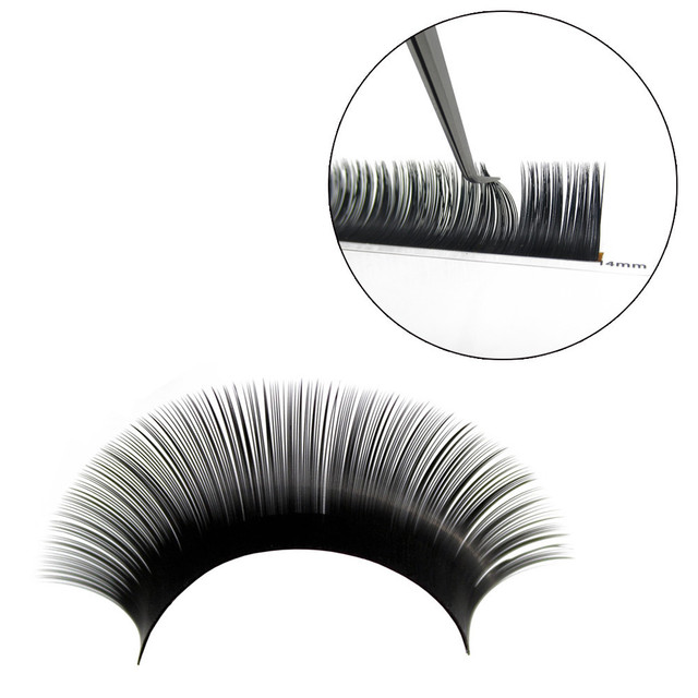 NEWCOME Cheap All Size Individual Eyelash Extension Natural False Mink Eyelashes maquiagem cilios Lash For Building Eyelashes 4