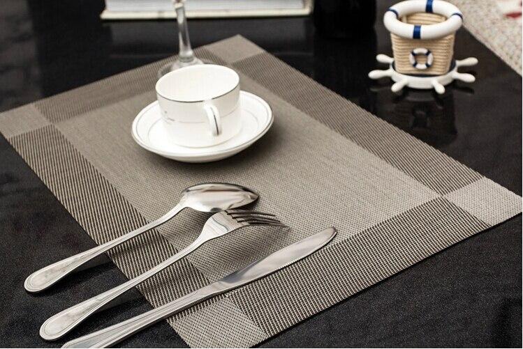 Classic Quality European Eat Mat Heat Pad Table Mats Pvc