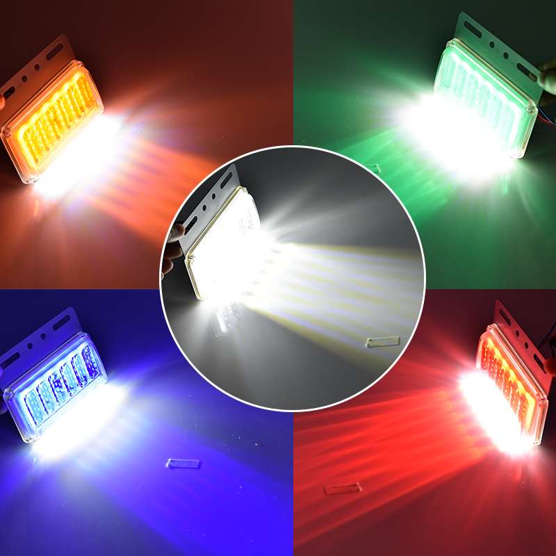 CNSUNNYLIGHT 24V LED Turn Signal Light Side Clearance Lamp Tail Reverse Truck Trailer Lorry Van Warning Fog Parking Lighting Bar (2)