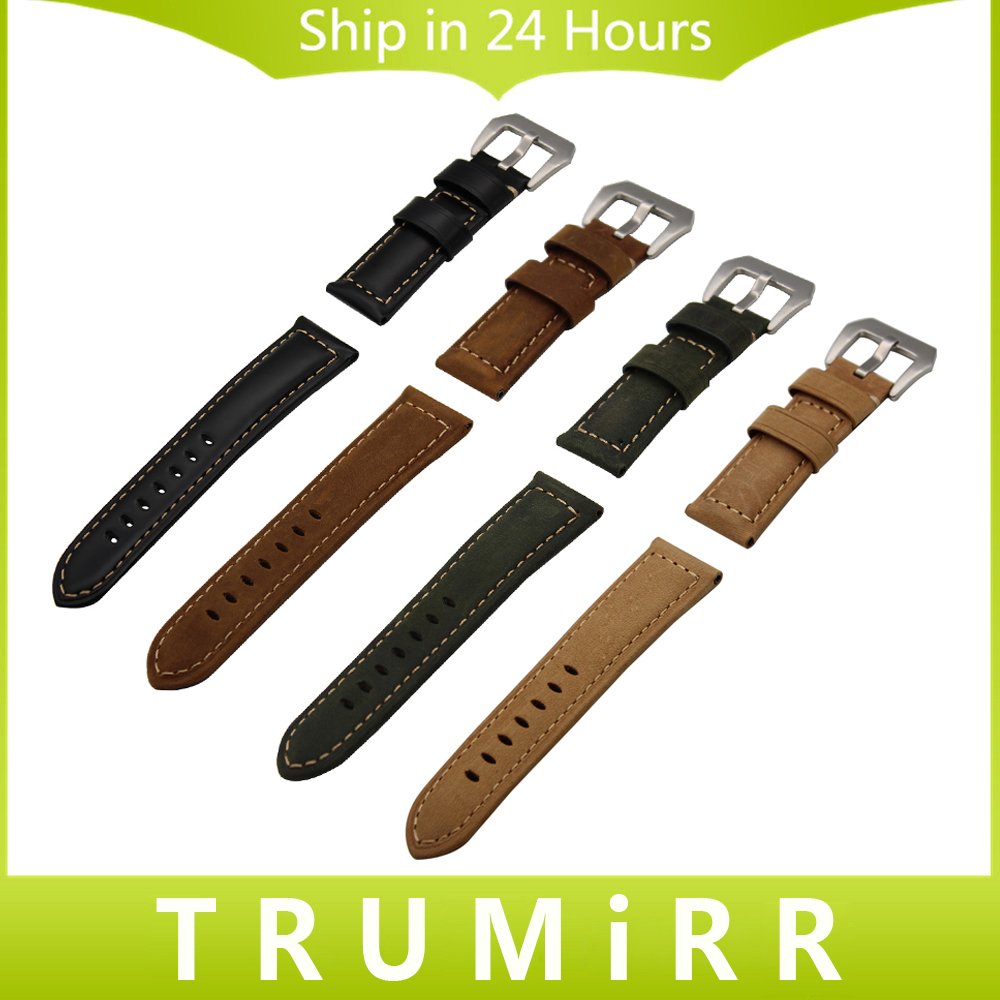 Italian Genuine Calf Leather Watchband 20mm 22mm 24mm 26mm Handmade Watch Band 316L Stainless Steel Buckle Strap Wrist Bracelet istrap 22mm handmade genuine calf leather padded replacement watch band for men black 22