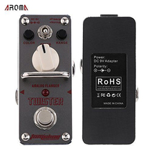 AROMA ATR-3 Guitar Effect Pedal Twister Analog Flanger Electric Guitar Effect Pedal Mini Single Effect with True Bypass aroma tomsline ach 3 mini chorus guitar pedal guitar effect pedal original