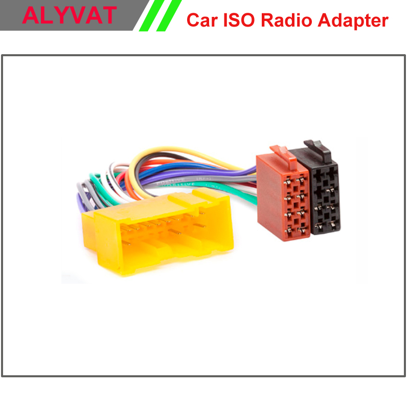 Car Radio Iso Wiring Harness For Nissan Almera Premiera Micra Terrano Vate Xtrail Wire: Wire Harness Connectors 90 Degrees At Outingpk.com