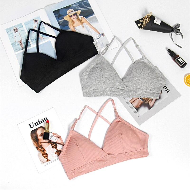 CMENIN Fashion Lingerie Women Lady Strap Bras Tops Tube Chest Wrap Bandeau Tops Underwear Black White Sexy Summer B0079