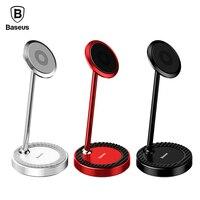 Baseus Magnetic Desktop Holder Stand For IPhone Samsung Xiaomi 360 Degree Mobile Phone Holder Stand Tablet