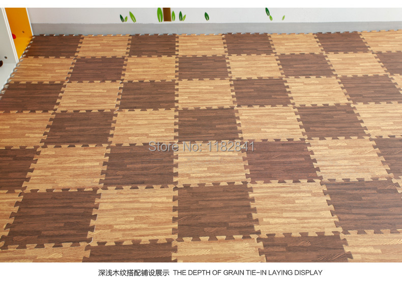 Art Of Wood 15 Years New Imitation Playground Plastic Foam Mats Bedroom Living Room Carpet Flooring Gym Floor Puzzle Mat In From Home Garden On
