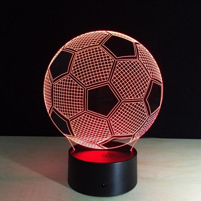 Упаковка из 40 шт. Fatball рамка Сенсорный экран 3D иллюзия Светодиодная вспышка света игрушка в коробке через DHL.