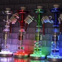RGB kontrol LED Işık 16-key IR Uzaktan Düğün Noel Festivali Centerpiece için Su Geçirmez led 20 CM uzaktan LED lamba paneli