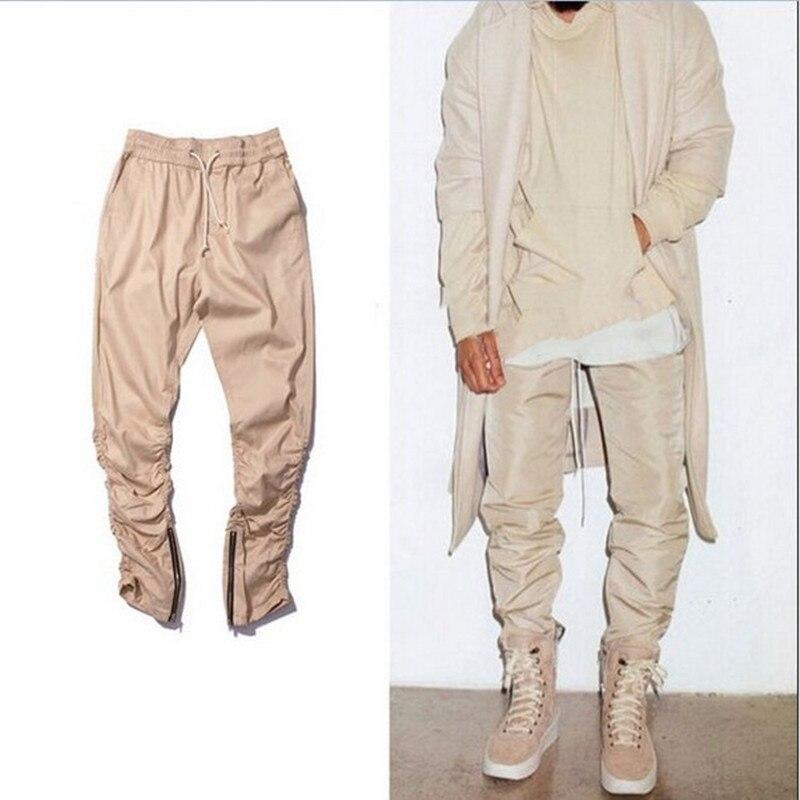 black / green / khaki justin bieber hip hop harem side zipper pants skinny  mens joggers - Compare Prices On Khaki Skinny Jeans For Men- Online Shopping/Buy