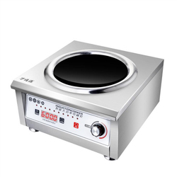 Commercial Induction Cooker 6000W Large Power Induction Cooker Commercial Electromagnetic Stove for Hotel/Canteen HSS-605G