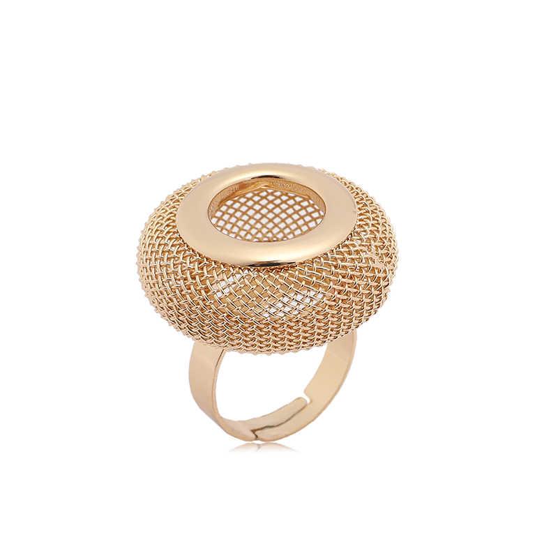 ZuoDi Dubai ouro-colorido Conjunto de Jóias Da Marca italiana mulher declaração de conjunto de jóias de casamento Moda conjunto De jóias de Noiva Atacado