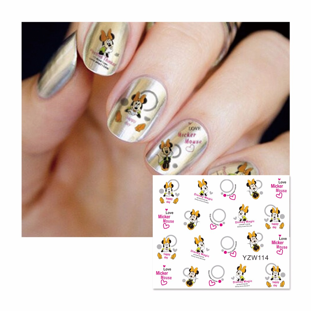 YZWLE 1 Blatt Optional Karikatur Feder Eule Designs Decals Mischten ...