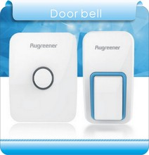 Newest Augreener mechanical household electric button waterproof wireless doorbell doesthis
