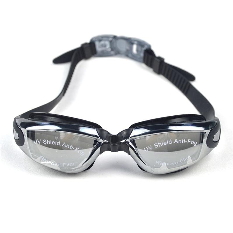 Swimming Goggles Eyewear Swim Glasses Adjustable Anti-fog UV Protection Waterproof With Earplug For Men Women Pool Training
