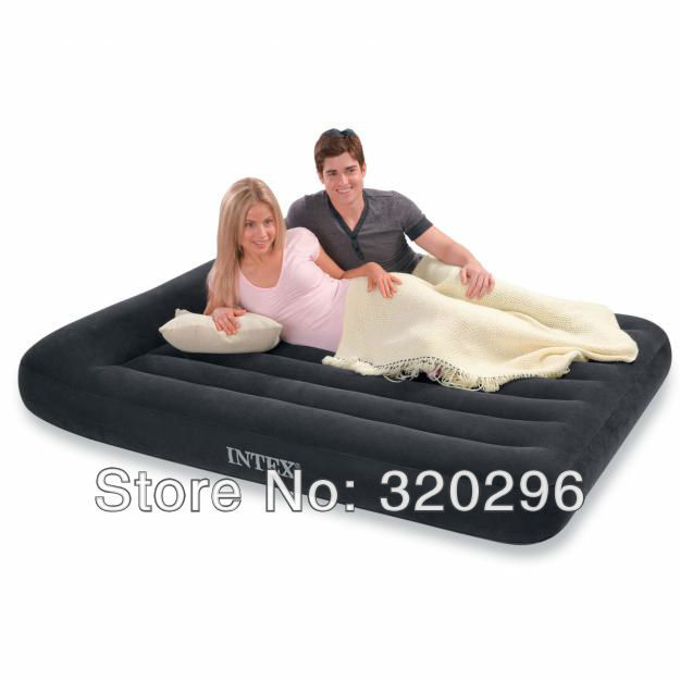 High Quality  Intex Large Size Inflatable Bed With Pillow Inside/ Intex-66770
