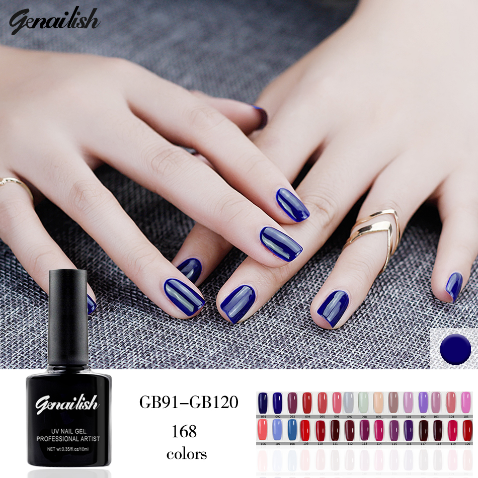 Uv Gel Nail Polish: 10ml/Pcs 168Colors Gel Nail Polish UV Gel Nail Polish Long