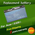 5200 mah batería para acer extensa 5220 5235 5620 5630 7620 TravelMate 5320 5520 5720 5730 7720 7520 6592 TM00741 TM00751 GRAPE32