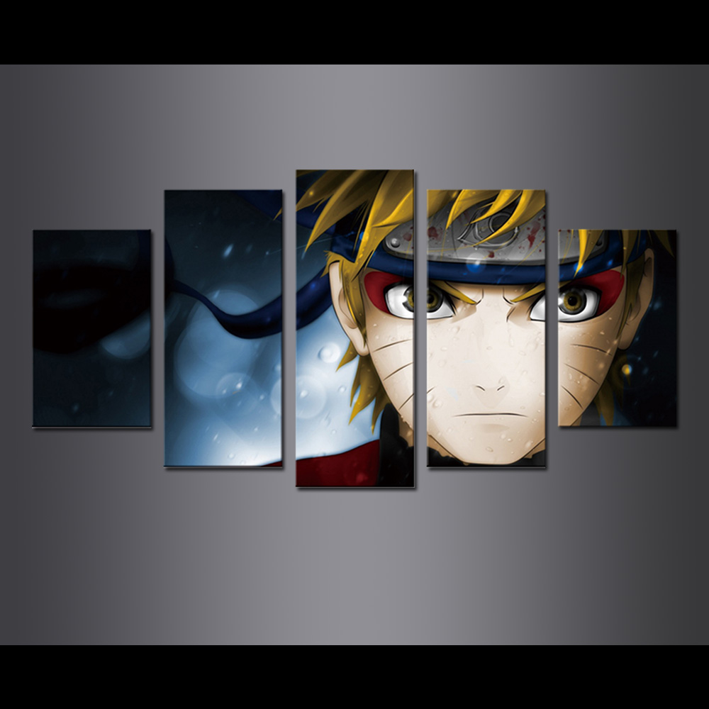 Unframed Canvas Prints Animatio Naruto Hokage Giclee Modular Picture Prints Wall Pictures For Living Room Wall Art Decoration