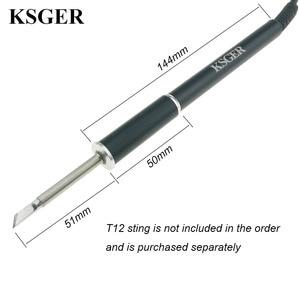 Image 4 - Ksger estação de solda, t12 liga de alumínio fx9501 pega stm32 oled ferro de solda estação de solda pontas de solda reparo ferramentas eletrônicas v2.1s v3.0 v2.01