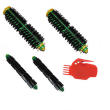 Bristle + Flexible Beater Brush + Free Tool pack for iRobot Roomba 500 Series vacuum cleaner vacuum cleaner brush