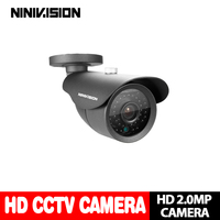 Home outdoor Waterproof Bullet IR CUT 2.0MP 1080P AHD Camera Night Vision AHD H CCTV Camera for home surveillance system
