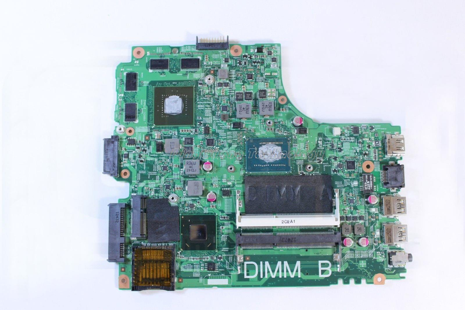 SHELI laptop Motherboard for dell 3421 5421 with 8 video card N14P-GE-A2 and i5-3337U processor CN-01FK62 100% full tested