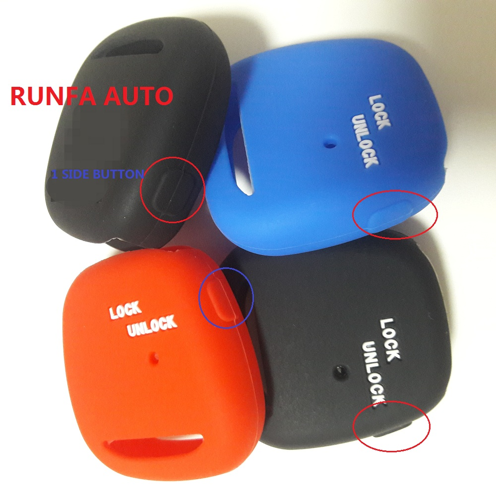 Silicone Remote Key Cover For Toyota Harrier Previa Celica Carina Estima Black