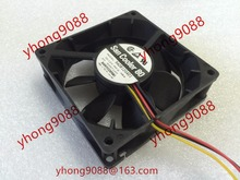 Free Shipping For Sanyo 9A0812G4D01  DC 12V 0.38A 3-wire 80mm, 80x80x25mm Server Square fan