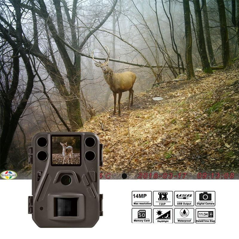 BolyGuard 14MP 720pHD trail macchina fotografica rapido tempo di innesco 0.7 s foto trappole di Visione Notturna Macchina Fotografica di Caccia termocamera BG330