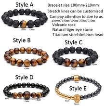 Tiger Eye Natural Stone Beads Bracelet