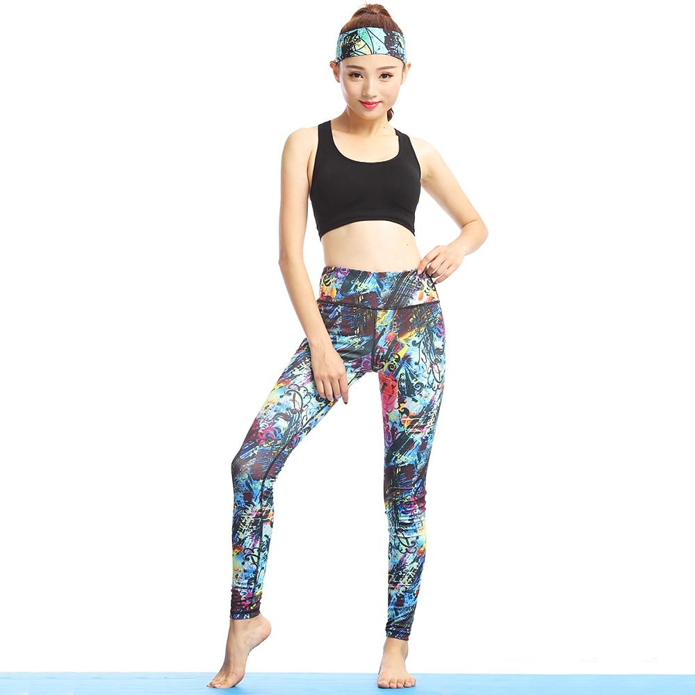 Vrouwen Yoga Sport Sets Gym Workout Sportkleding Pak Elastisch - Sportkleding en accessoires - Foto 5