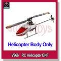 Wltoys V966 2.4 GHz 6CH 3D/Star Power 1 BNF 6-Axis Gyro Flybarless RC Helicóptero corpo só