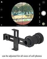 Универсальный адаптер для сотового телефона PPT  крепление для винтовки  крепление для камеры для охотничьего прицела  аксессуары для GZ33-0202