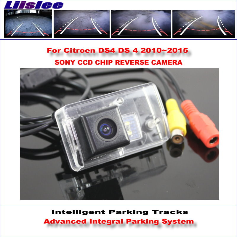 Liislee High Quality 3089 Chip Intelligentized Rear Camera For Citroen DS4 DS 4 2010~2015 / NTSC PAL RCA AUX HD SONY CCD