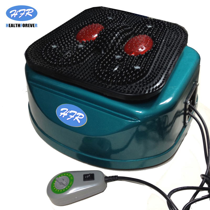 HFR-8805-1 HealthForever Marca Pernas Dispositivo de Controle Remoto Vibratório Máquina de Circulação de Sangue Do Pé Elétrica Massagem de Corpo Inteiro